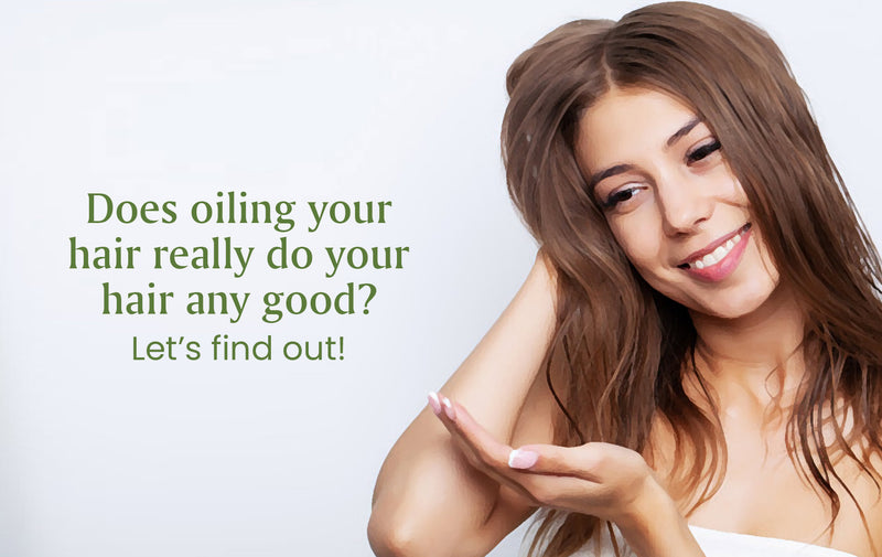 Unlock healthy hair by oiling them!