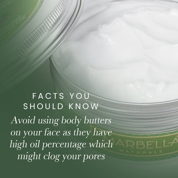 Difference Between Body Lotion And Body Butter