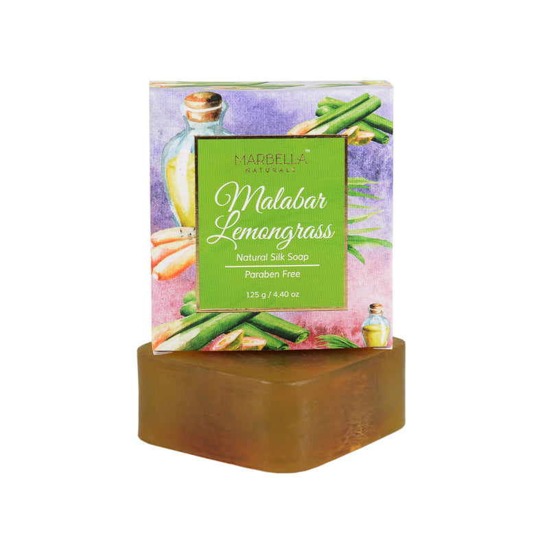 Malabar Lemongrass Natural Silk Soap