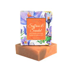 Saffron & Sandalwood Cold Pressed Luxury Soap