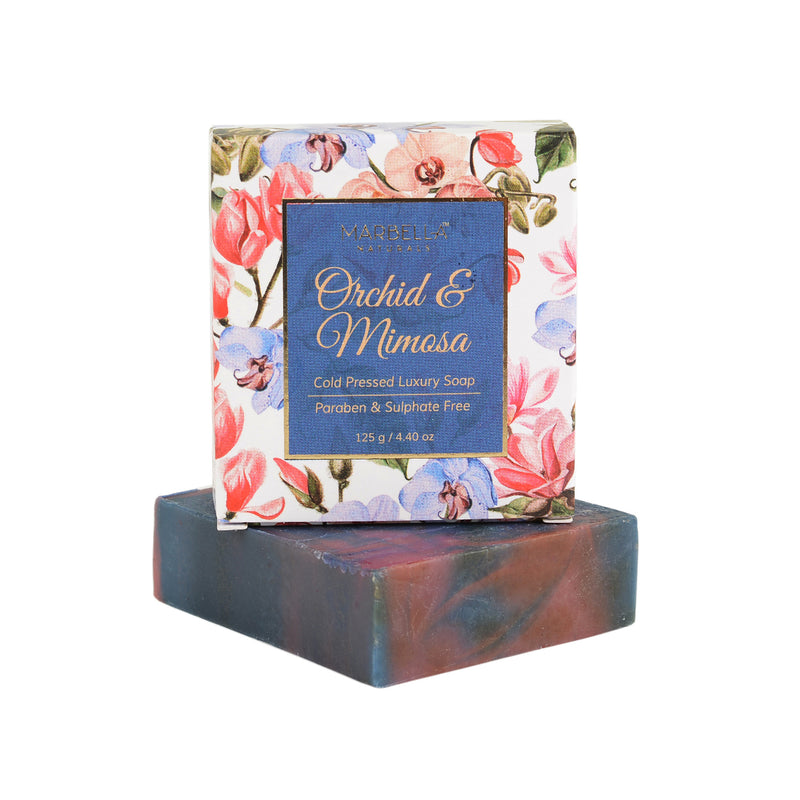 Orchid & Mimosa Cold Pressed Luxury Soap