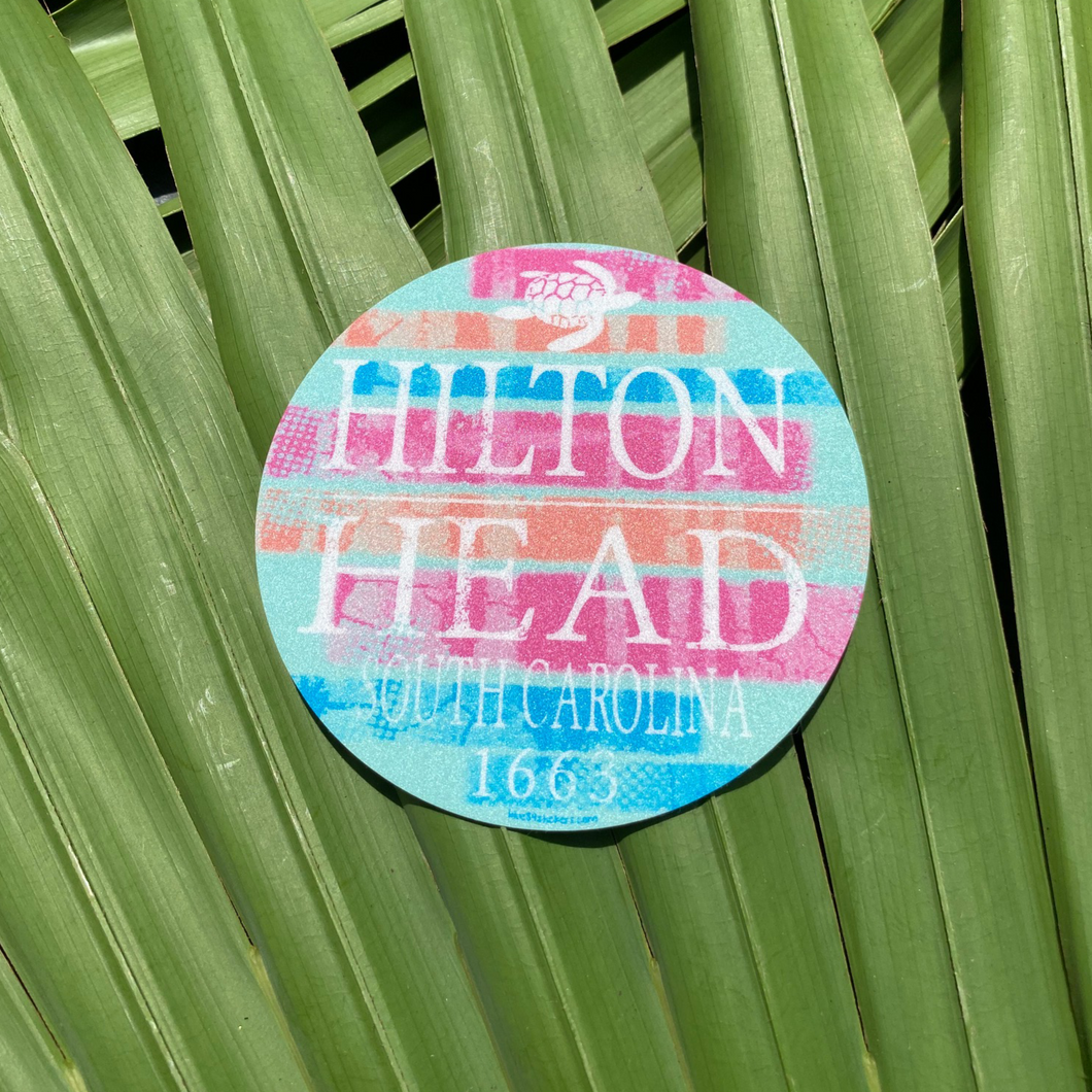 HHI Circle Sticker