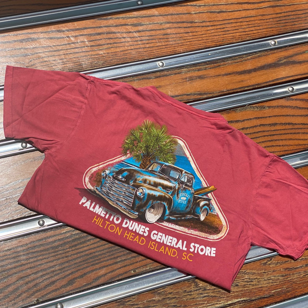PDGS Truck and Palm Tree T-Shirt