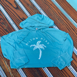 Lightweight Palm Tree Sweatshirt