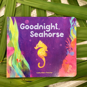 """Goodnight Seahorse"" Kids Book"