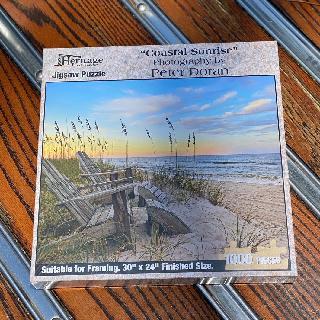 Coastal Sunrise 1,000 Piece Puzzle