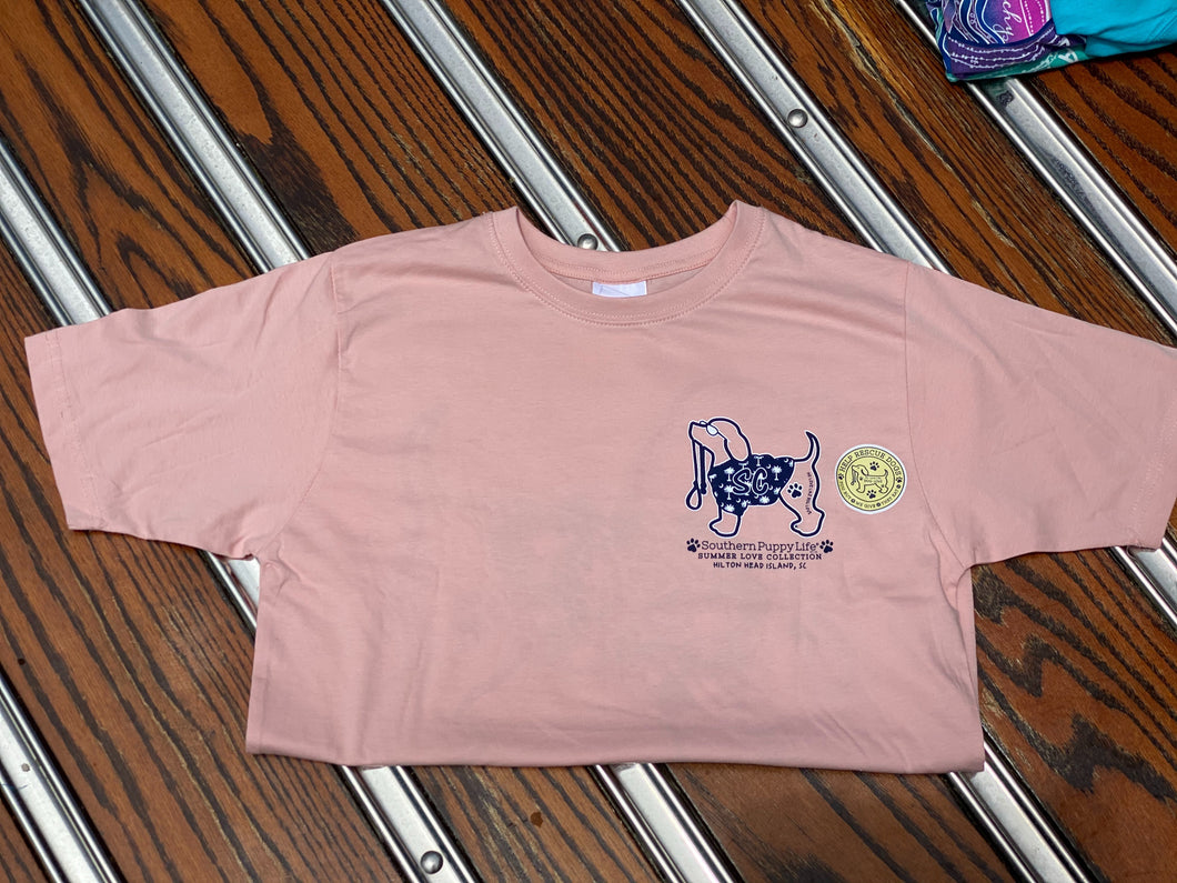 Pink Southern Puppy Life T-Shirt