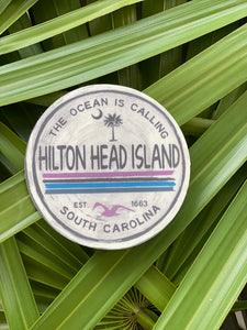 The Ocean is Calling HHI Sticker