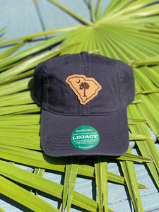 South Carolina State w/ Moon and Palm Hat