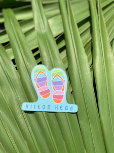 HHI Flip Flop Sticker