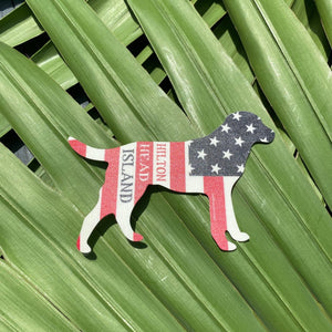 HHI American Dog Sticker
