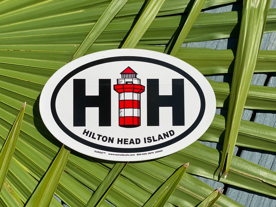 HHI Lighthouse Sticker