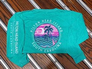 HHI Let's Get Beachy Long Sleeve T-Shirt