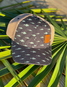 SC Moon and Palm Fish Hat