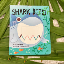 "Load image into Gallery viewer, ""Shark Bite"" Kids Book"