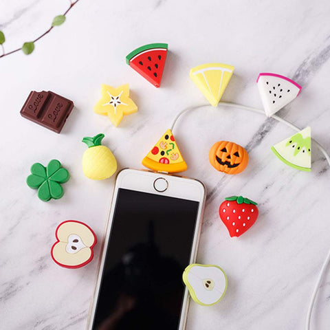 Cable Protector - Fruit (3 Piece)