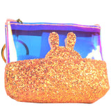 Glitter Key-ring pouches
