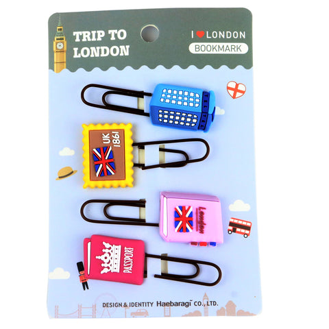 I Love London Book Mark