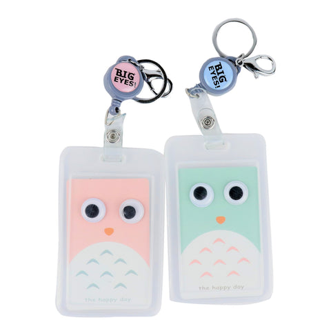 POP Up Eye ID Card Holder