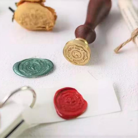 Flight Wax Stamp