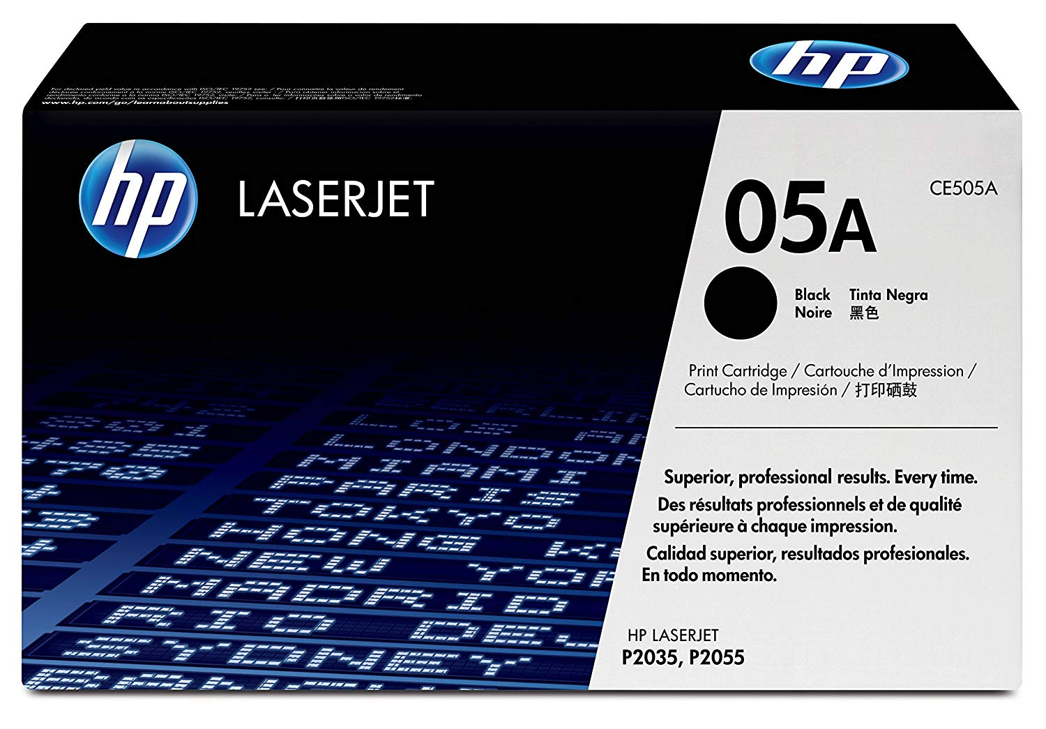 HP 05A Original Toner Cartridge Black, Pack of 1