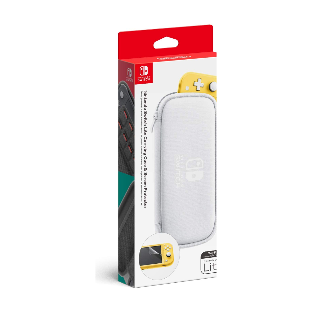 Nintendo Switch Lite Carrying Case + Screen Protector