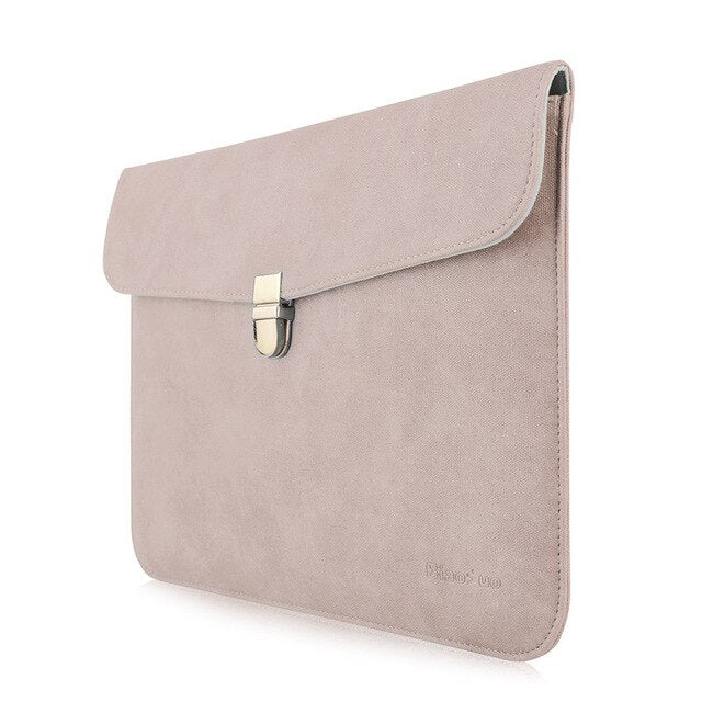 Leather Sleeve Bag