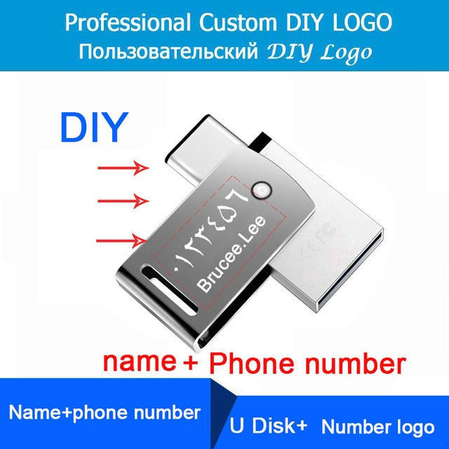 USB 3.1 Metal USB Pen Drive