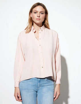 Camisa Bea Color - BABY PINK