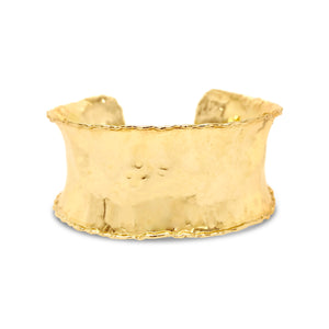 DP Original Anticlastic Yellow Gold Cuff Bracelet.