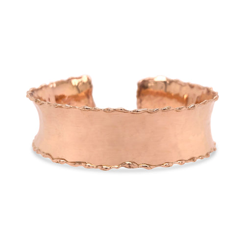 DP Original 14k rose gold Anticlastic Cuff