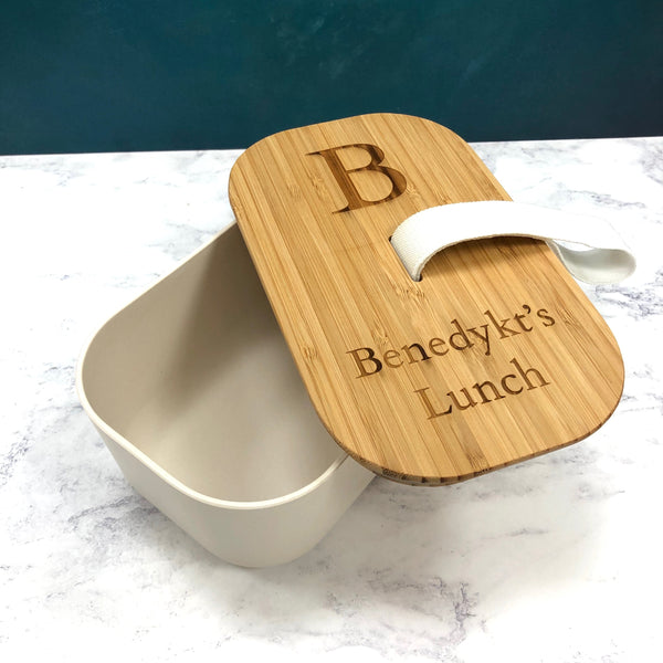 100% Bamboo Lunch Box
