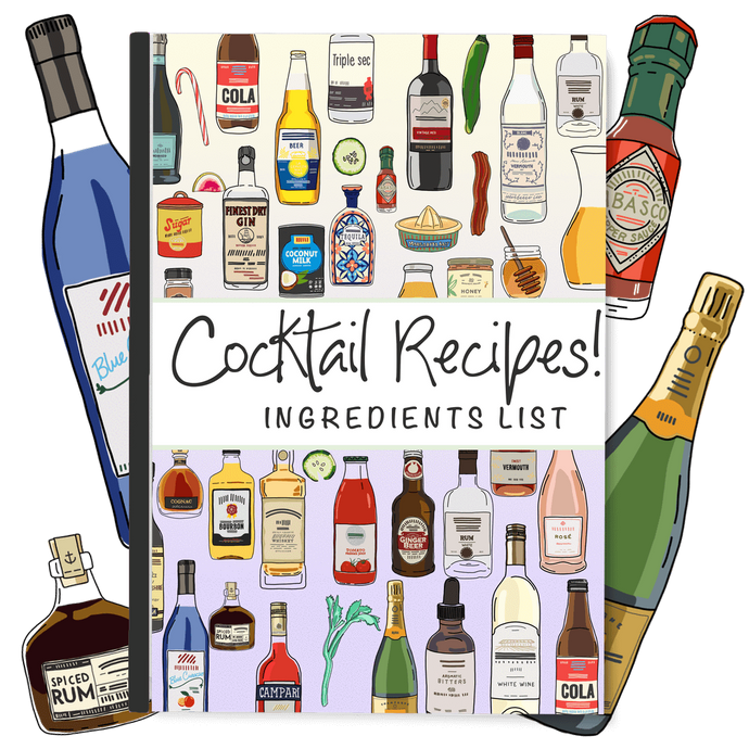 Cocktail Recipes! Ingredients Ebook