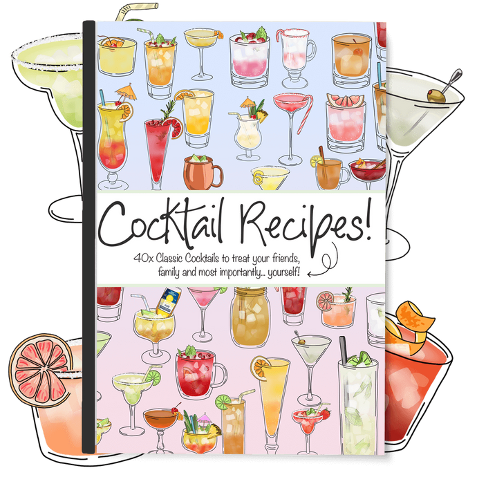 40x Cocktail Recipes! Ebook