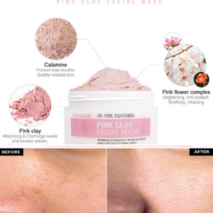 SKIN&LAB - Pink Clay Facial Mask (100g)