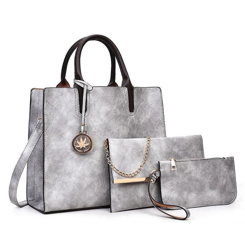 Leather Bags Women Shoulder Bag Handbag Ladies Fashion 2020