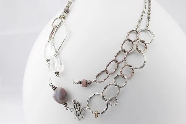 A Strong Foundation Necklace