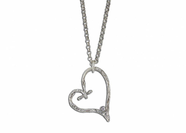 Shipwrecked Heart Necklace