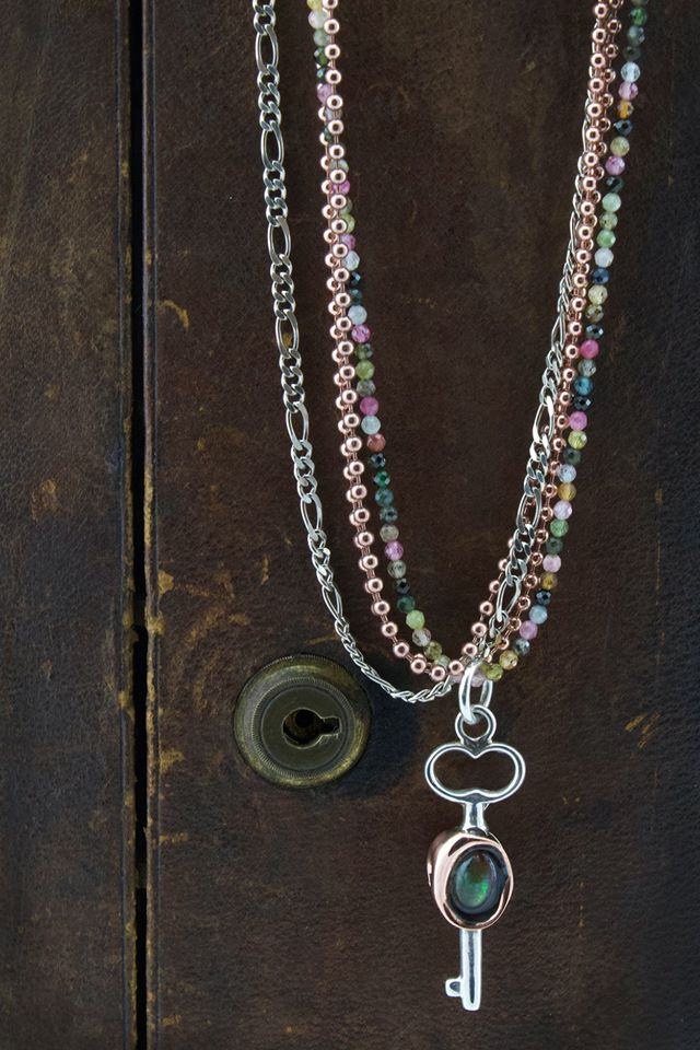 Key To A New Door Opening Necklace