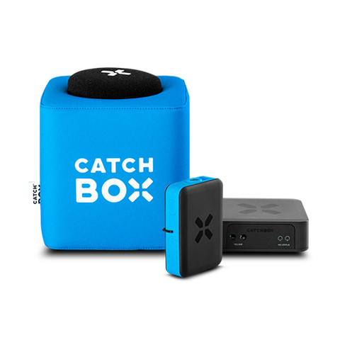 Catchbox Plus with Audience and Presenter Mic