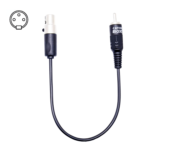 Cable with 3-pin mini-XLR (AKG)