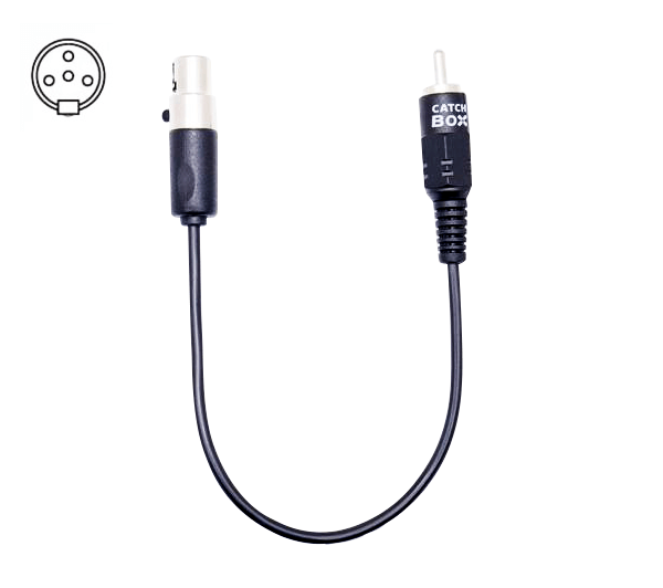 Cable with 4-pin mini-XLR (Shure)