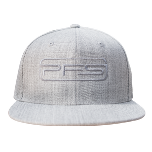 PFS Flat Bill Hat Wool Acrylic - Slate Grey