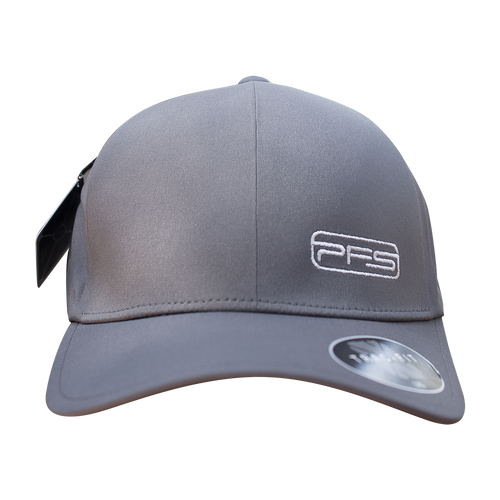 PFS Curved Bill Hat Poly - Cement Grey