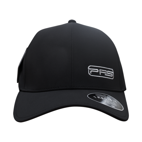 PFS Curved Bill Hat Poly - Charcoal Black