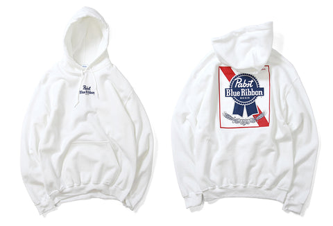 PABST BLUE RIBBON SMALL LOGO HOOD