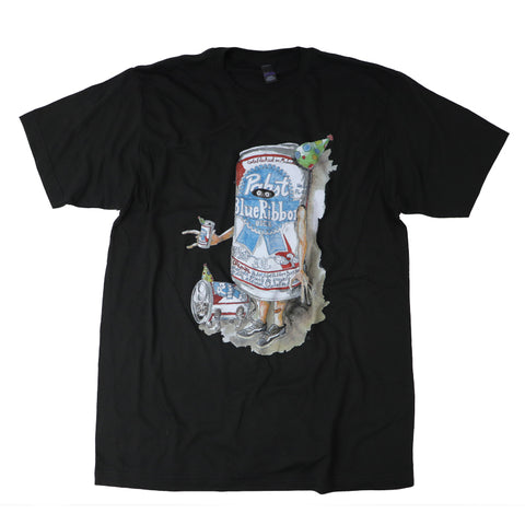 PBR ART T-shirts BLK