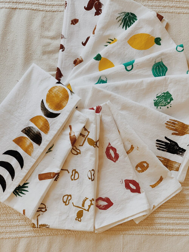 Block Printed Towel Kit (2 Towels)