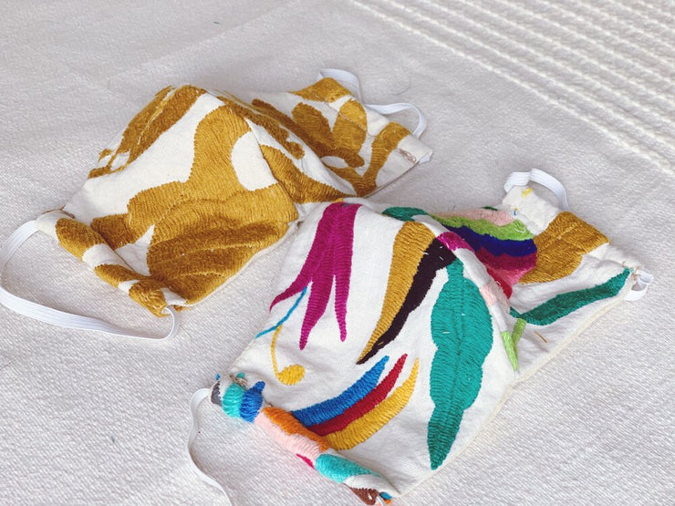 Otomi Fabric Mask