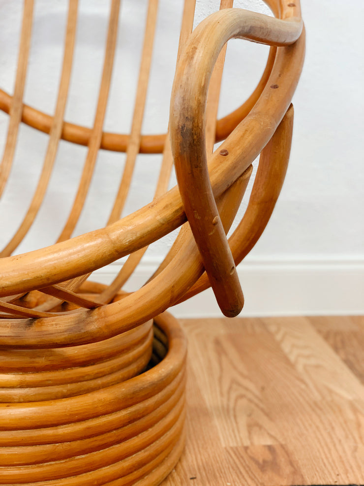 Swivel Rattan Rockers (priced individually)